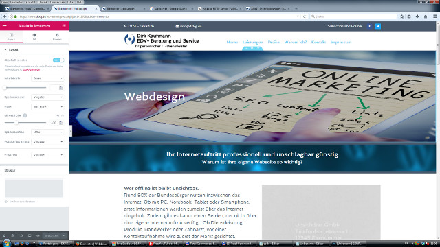 Webdesign professionell und unschlagbar günstig